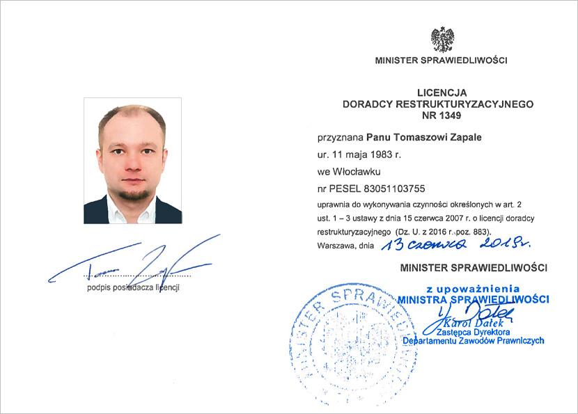 FA Partners - Certyfikat